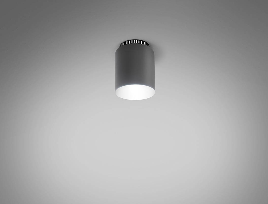 Aspen 17A Ceiling Lamp LED, Grey