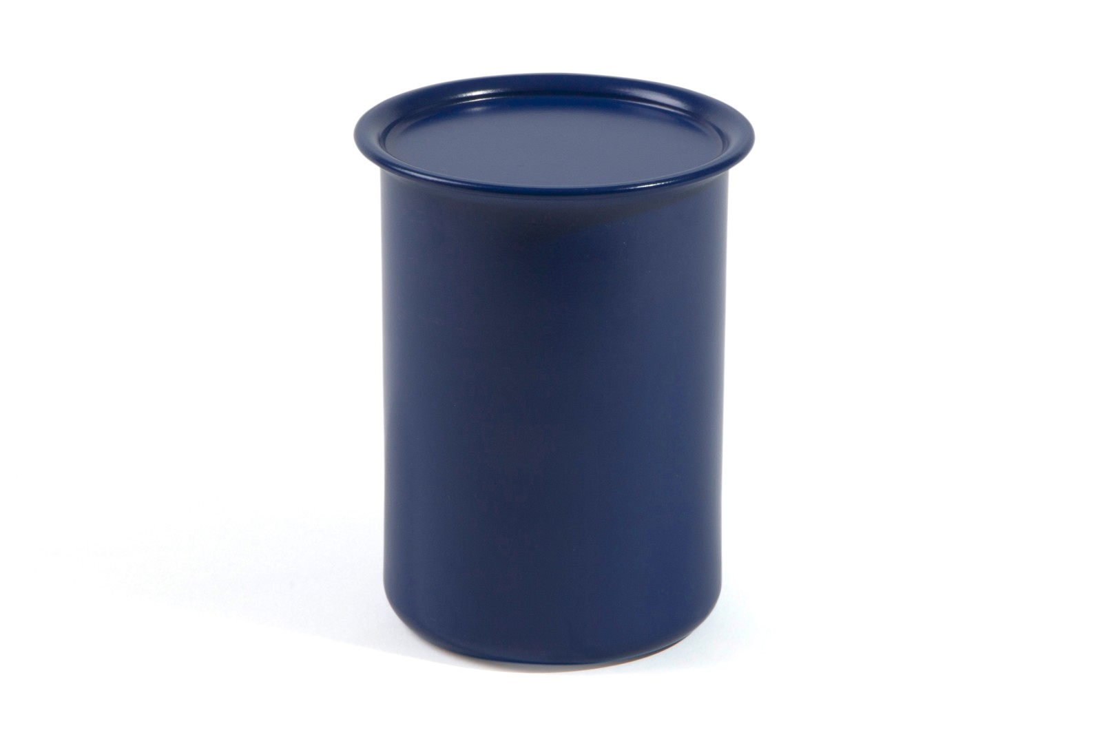 Ayasa Storage Container Blue with Metal Lid, 0.75L