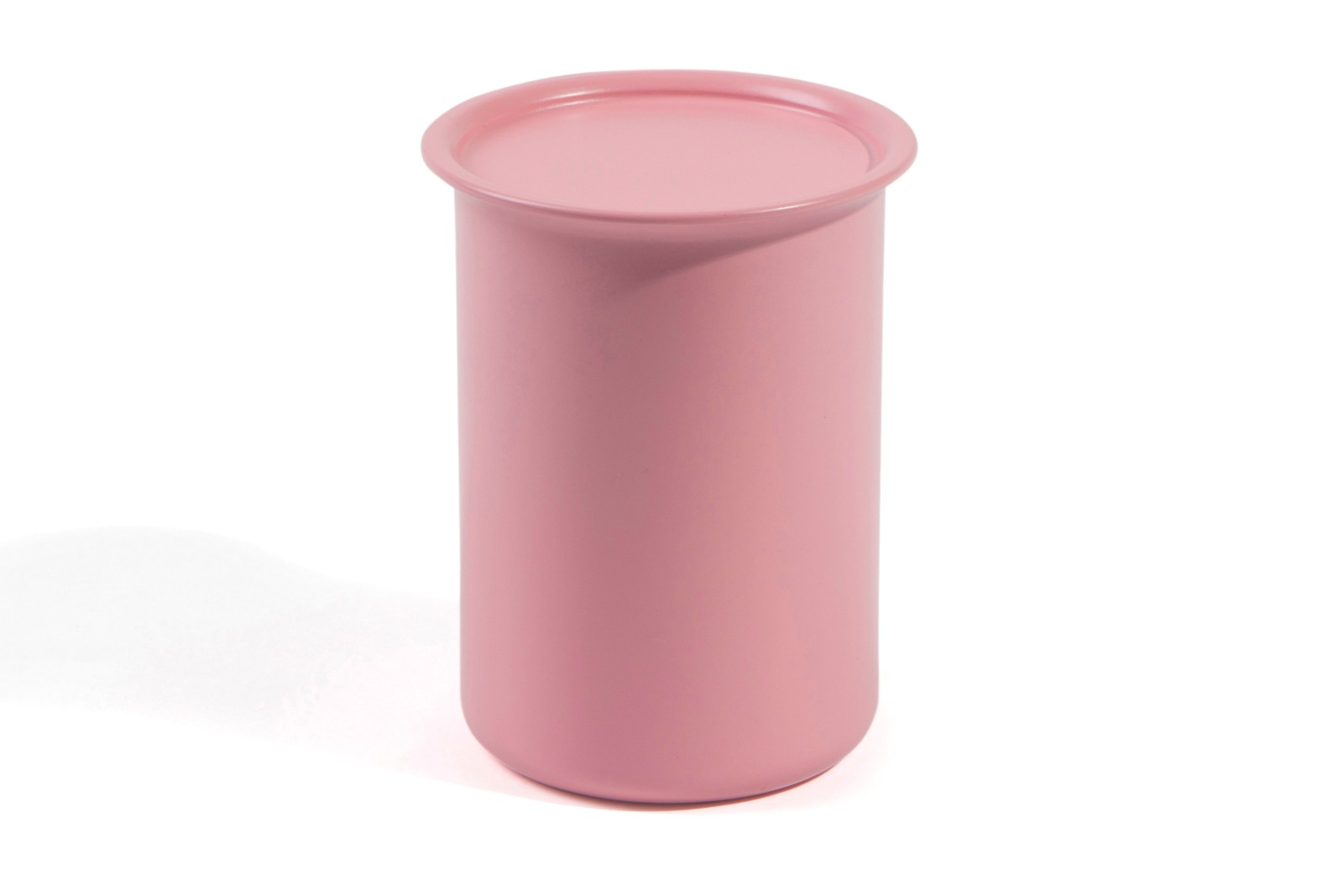 Ayasa Storage Container Pink with Metal Lid, 0.75L