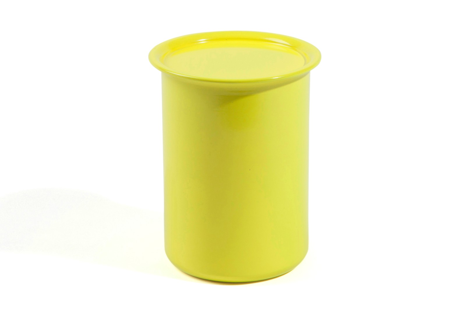 Ayasa Storage Container Yellow with Metal Lid, 0.75L