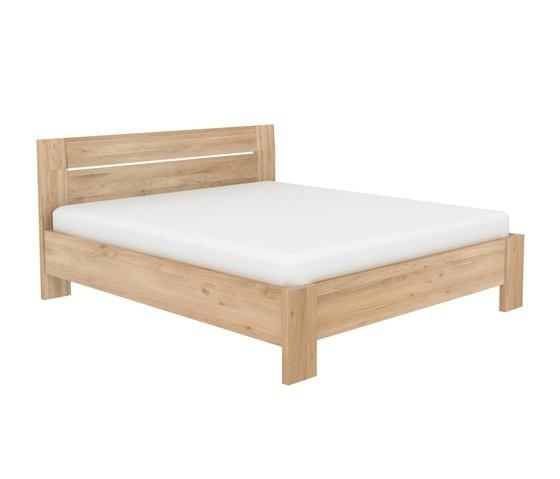Azur Bed Oak, Mattress size 180-200