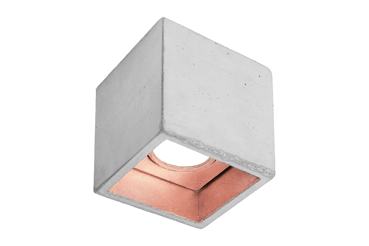 [B7] Ceiling Light Light Grey/Copper