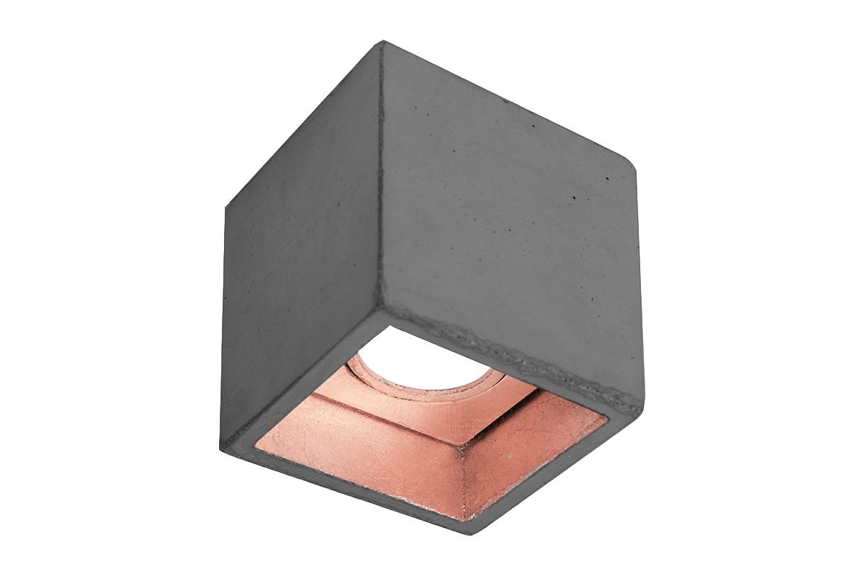 [B7] Ceiling Light Dark Grey/Copper