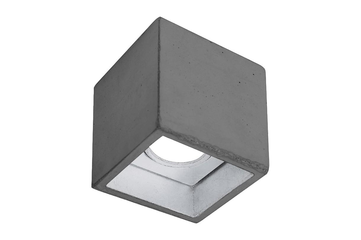 [B7] Ceiling Light Dark Grey/Silver