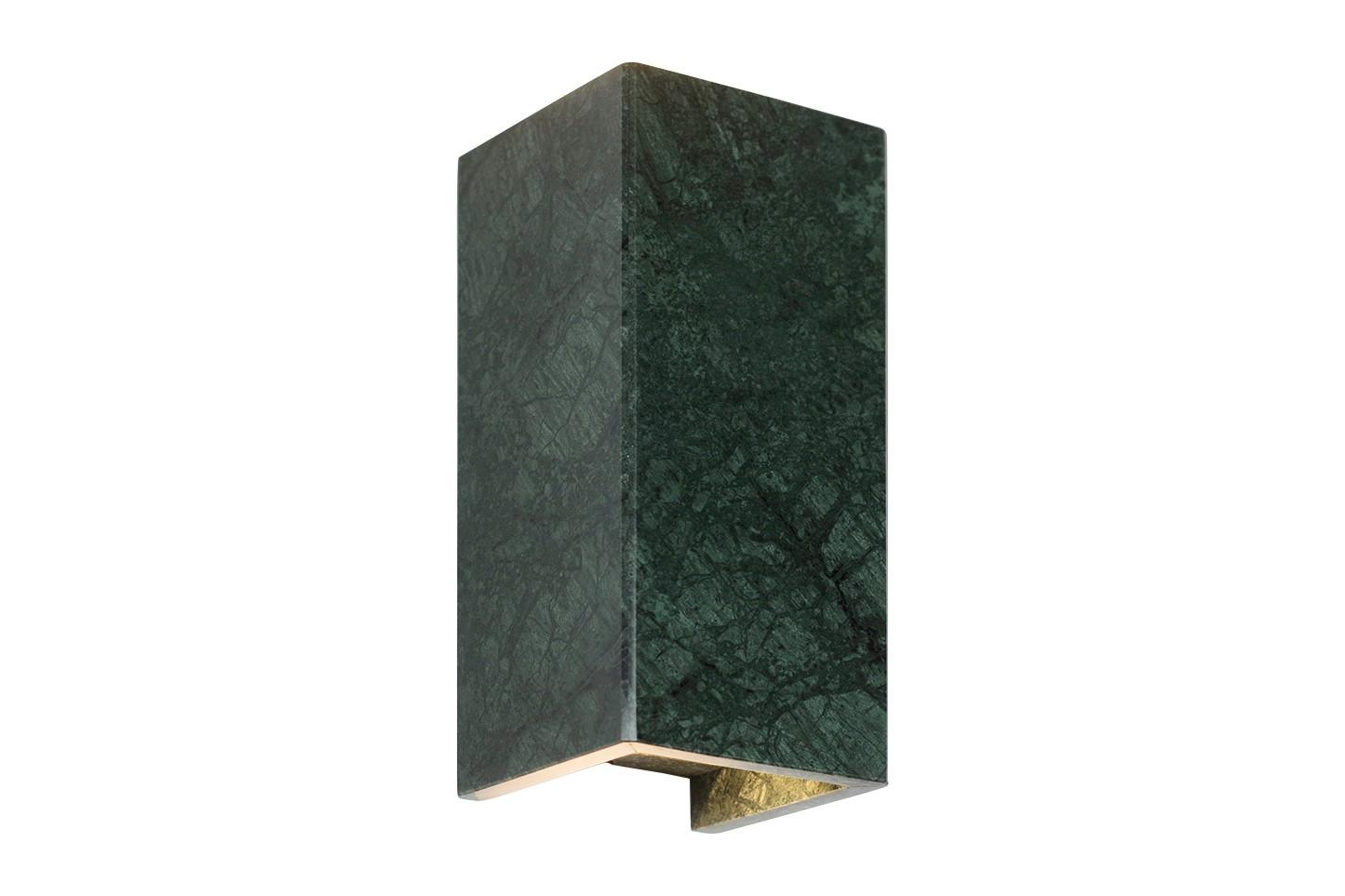 [B8] Marble Wall Light Verde Guatemala