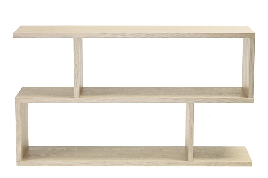 Balance Low Shelving Limed Oak