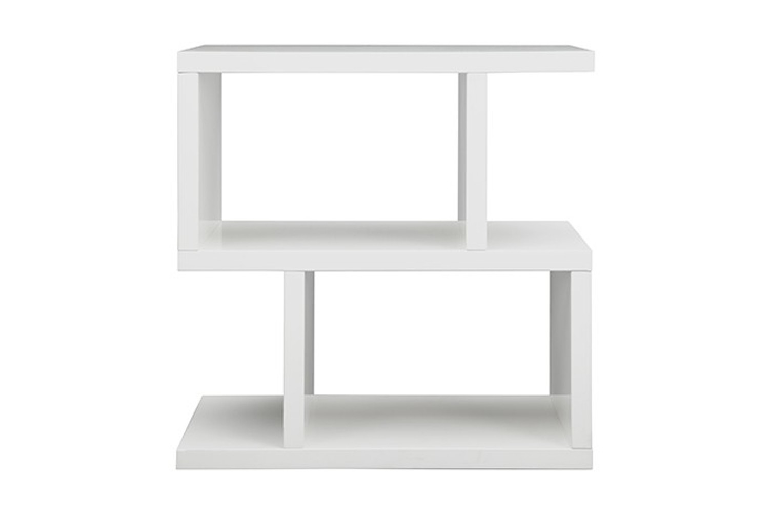 Balance Side Table White