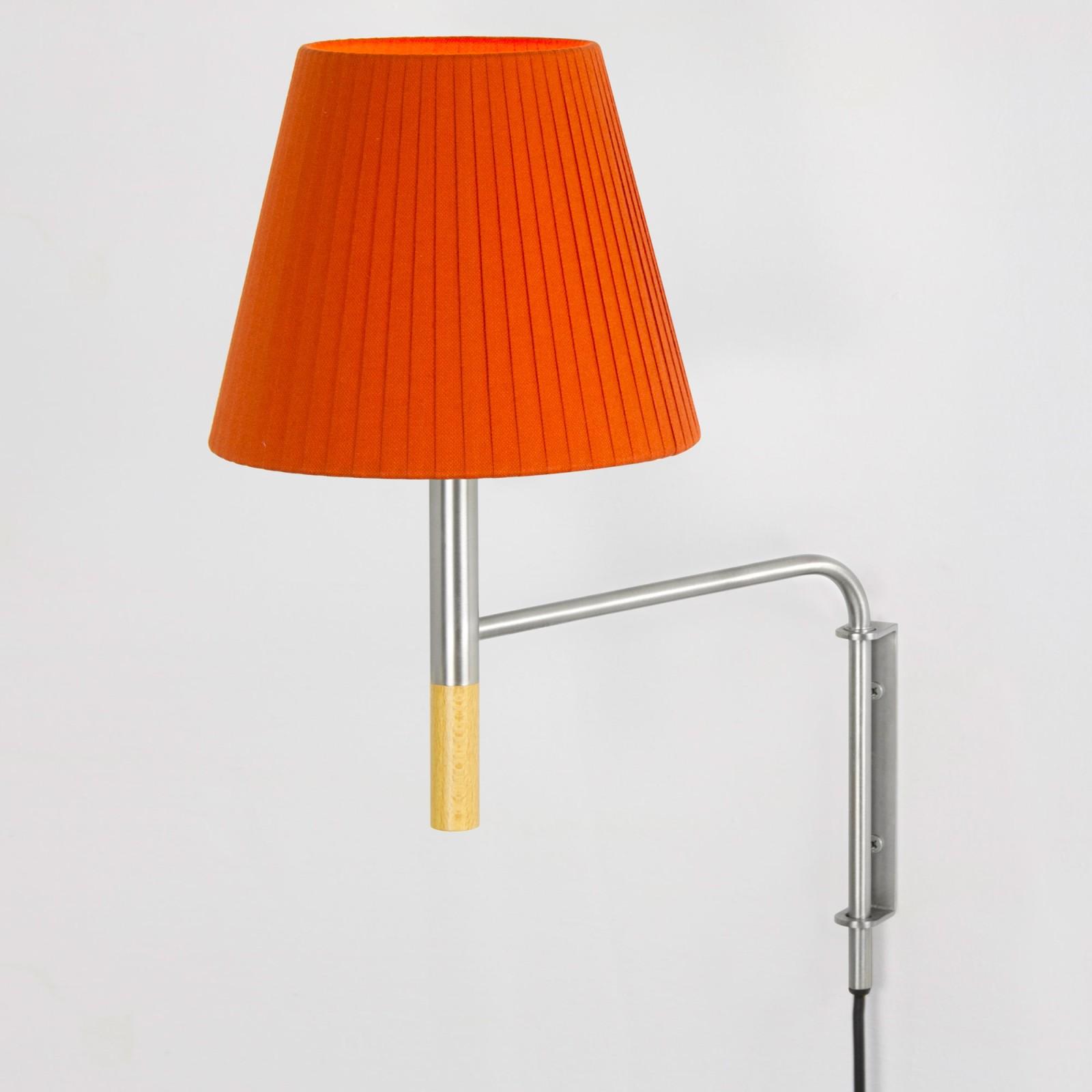 BC1 Wall Lamp Red-amber ribbon