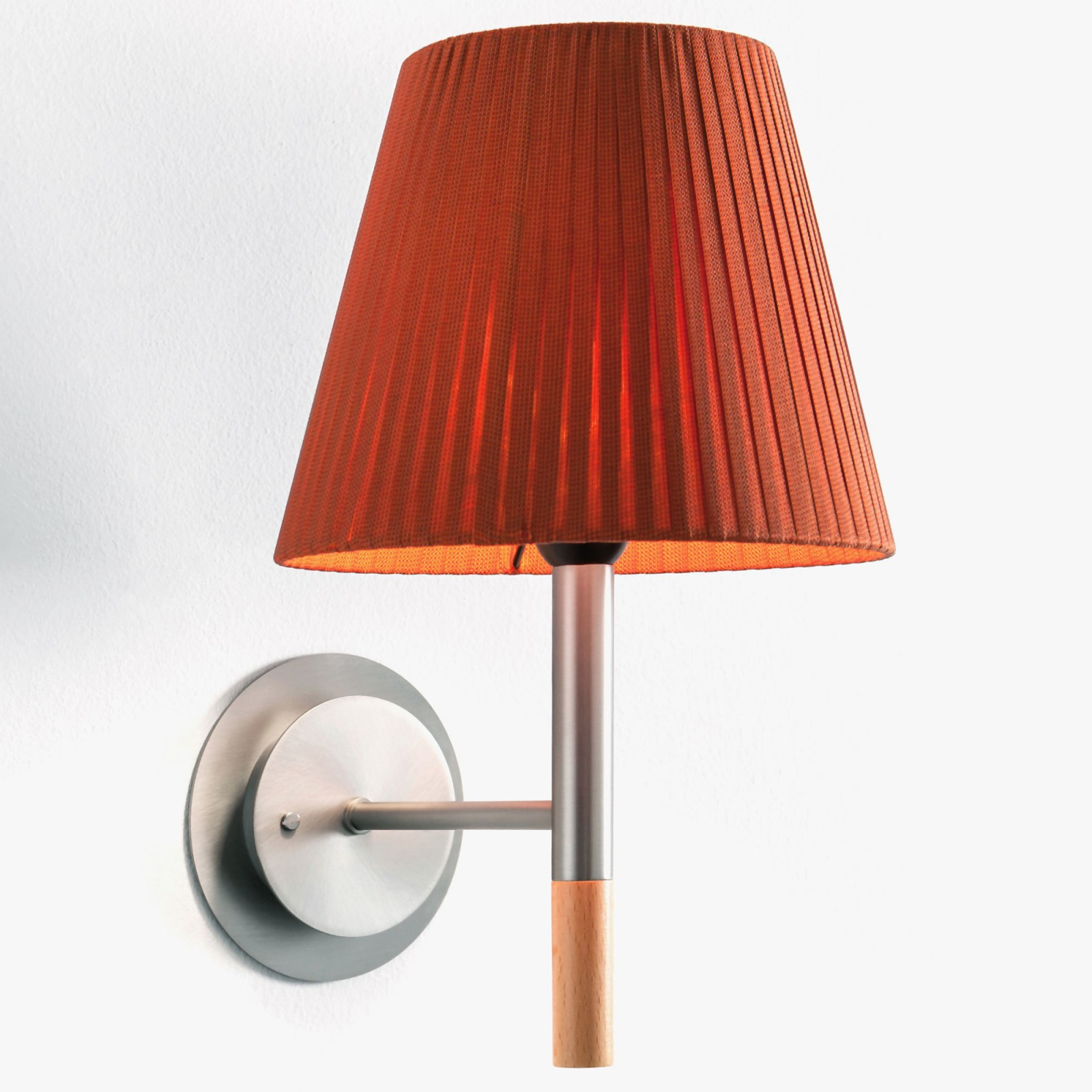 BC2 Wall Lamp Red-amber ribbon