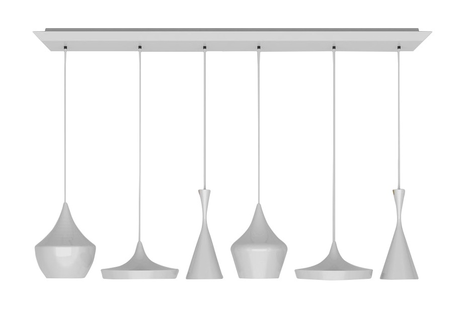 Beat Range Linear Pendant System White