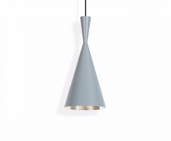 Beat Tall Pendant Light Grey