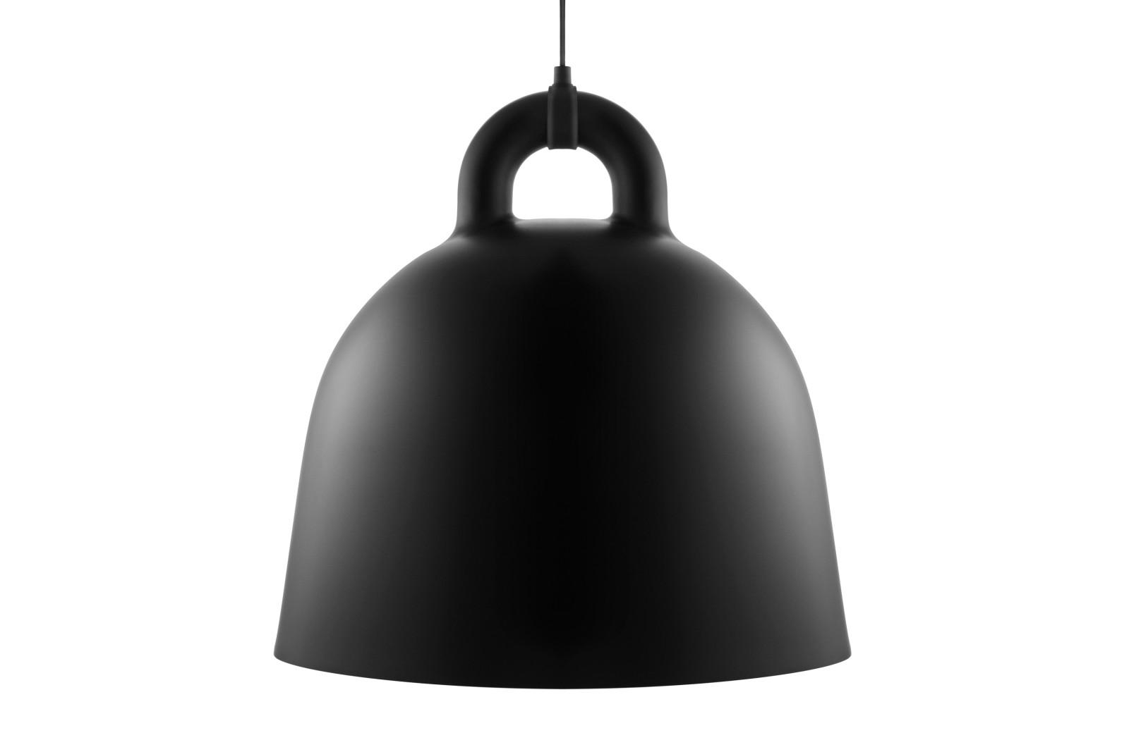 Bell Pendant Light Black, Large