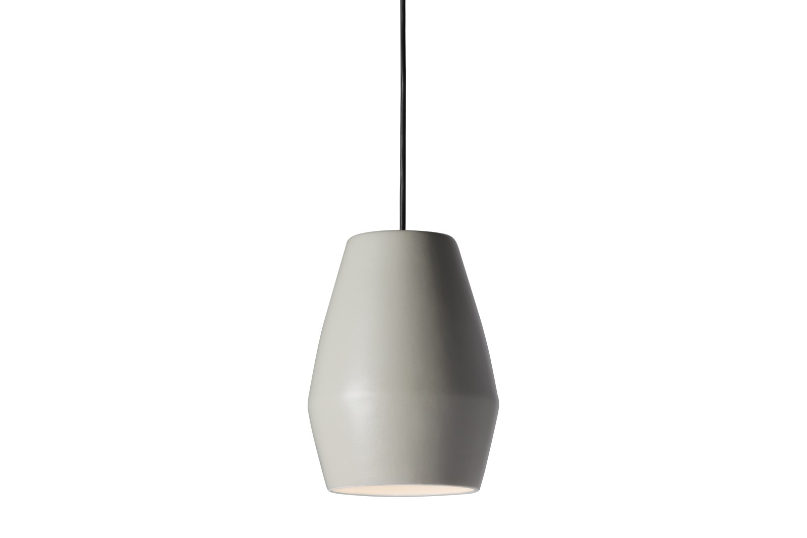 Bell Pendant Light Light Grey Matt