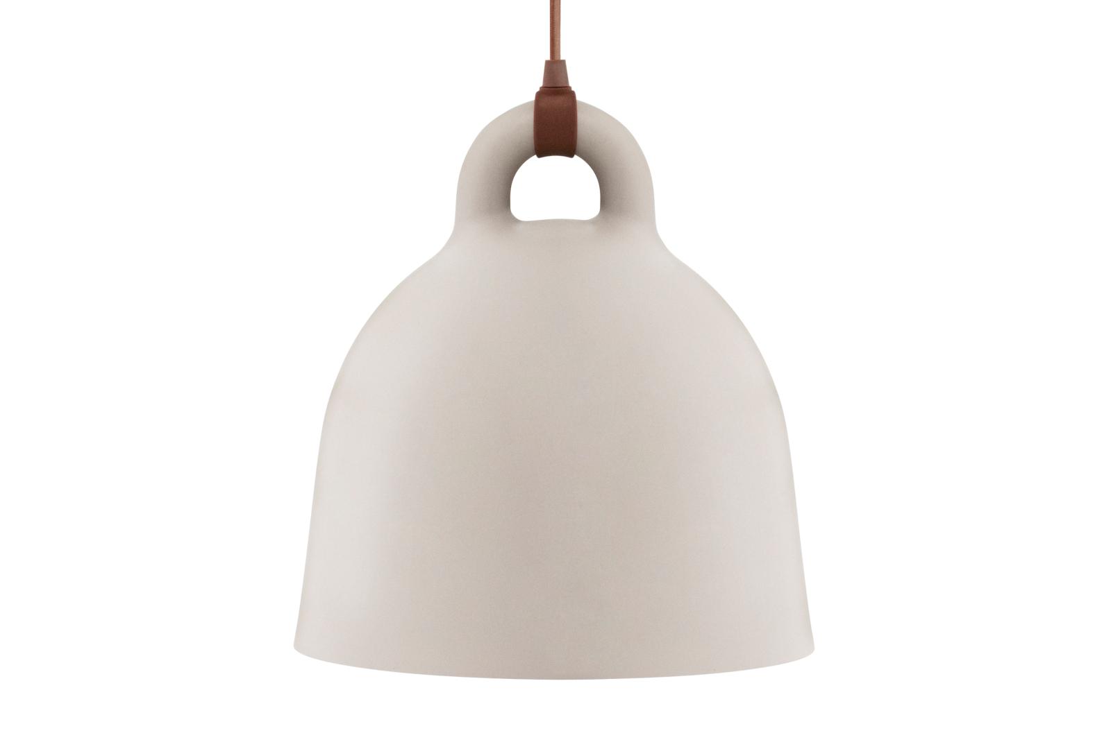 Bell Pendant Light Sand, Medium