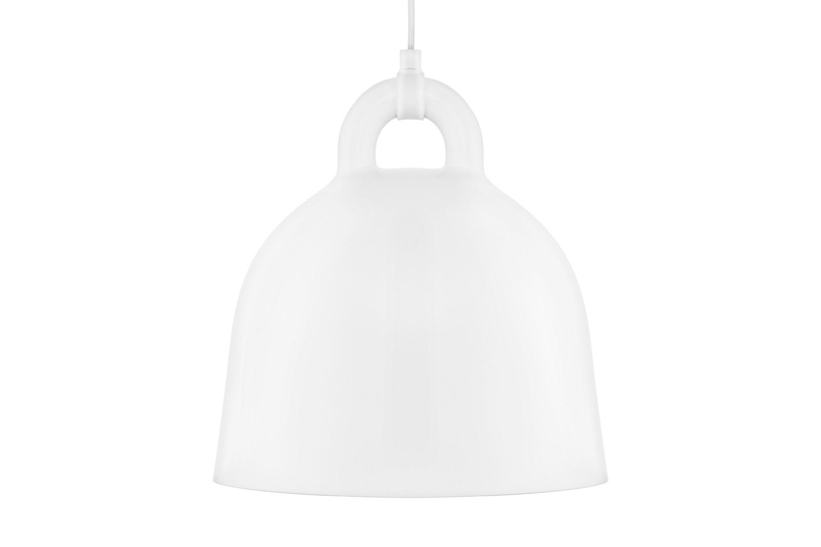 Bell Pendant Light White, Small