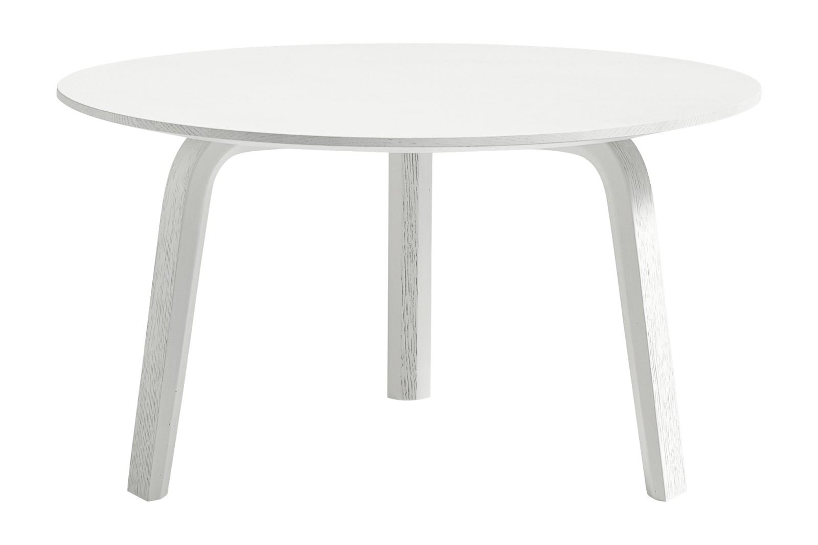 Bella Coffee Table White, 32cm
