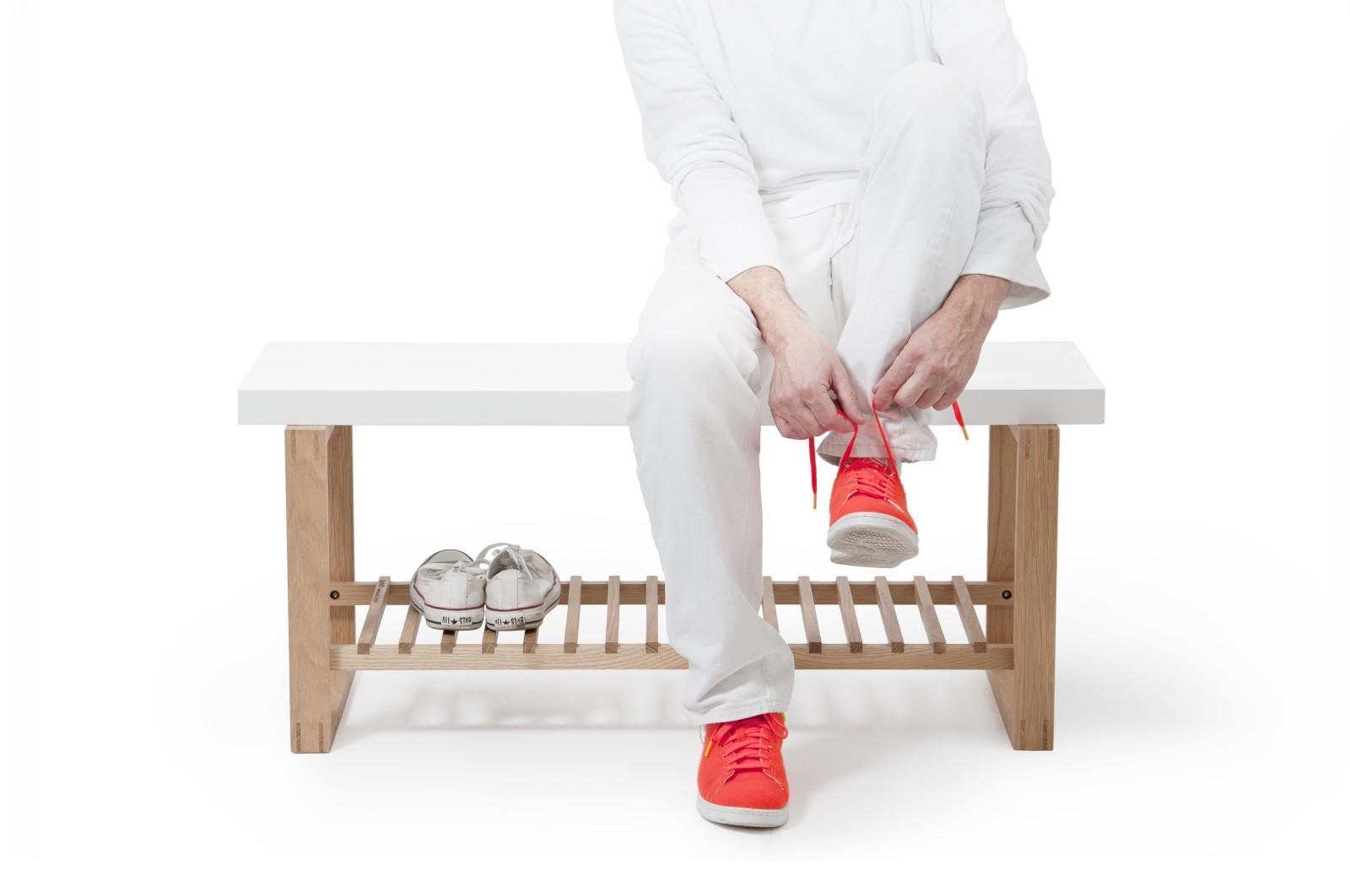 Bench Bench - White/Oak