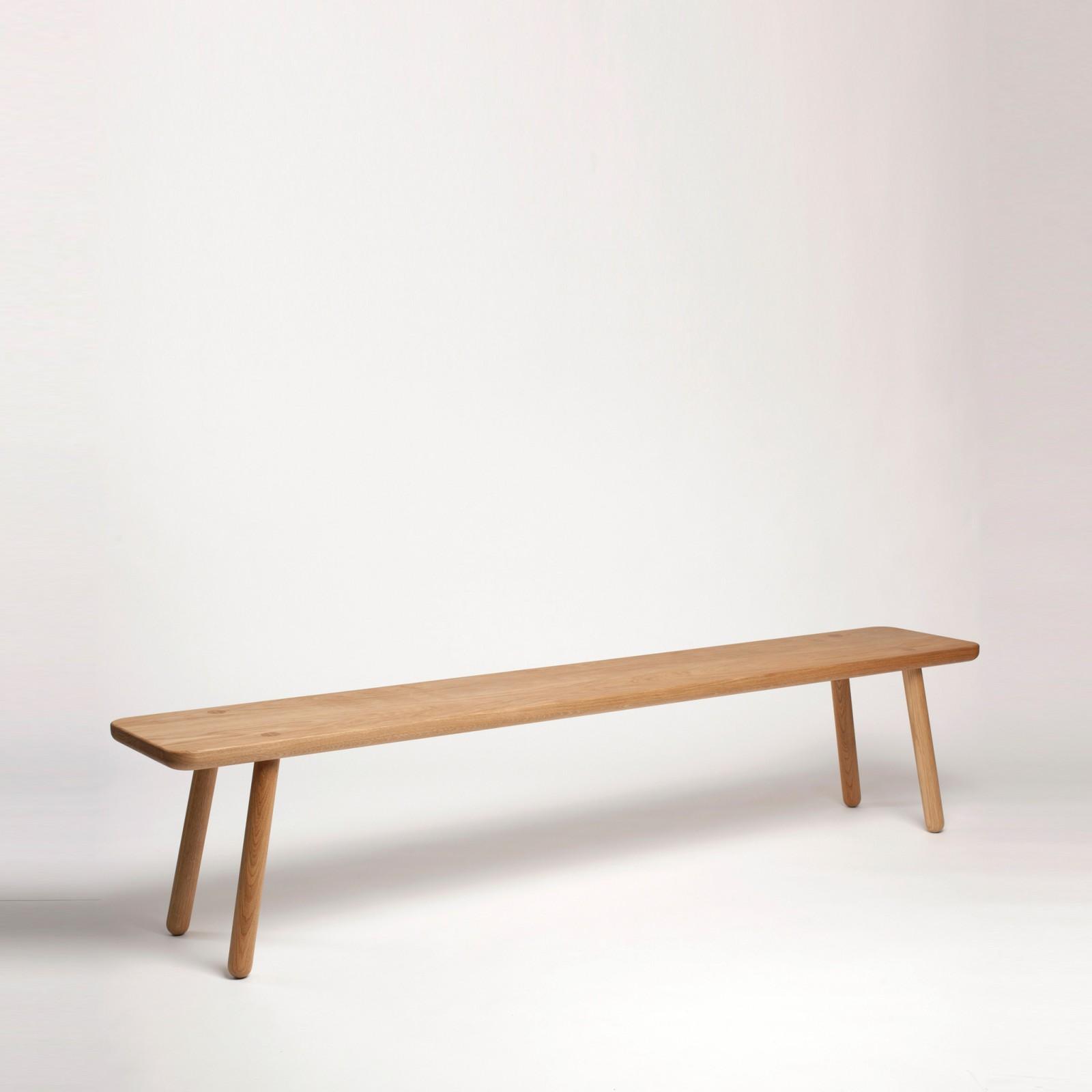 Bench One Oak, 140 cm