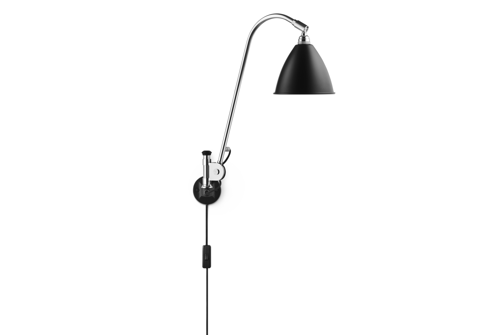 Bestlite BL6 Wall Light Black / Chrome