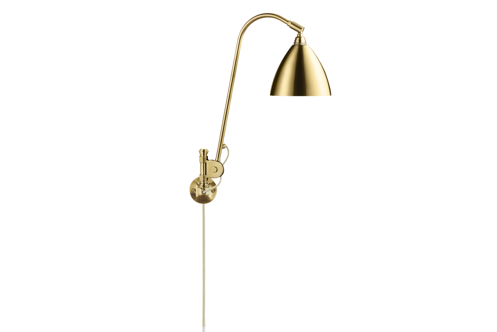 Bestlite BL6 Wall Light Brass / Brass