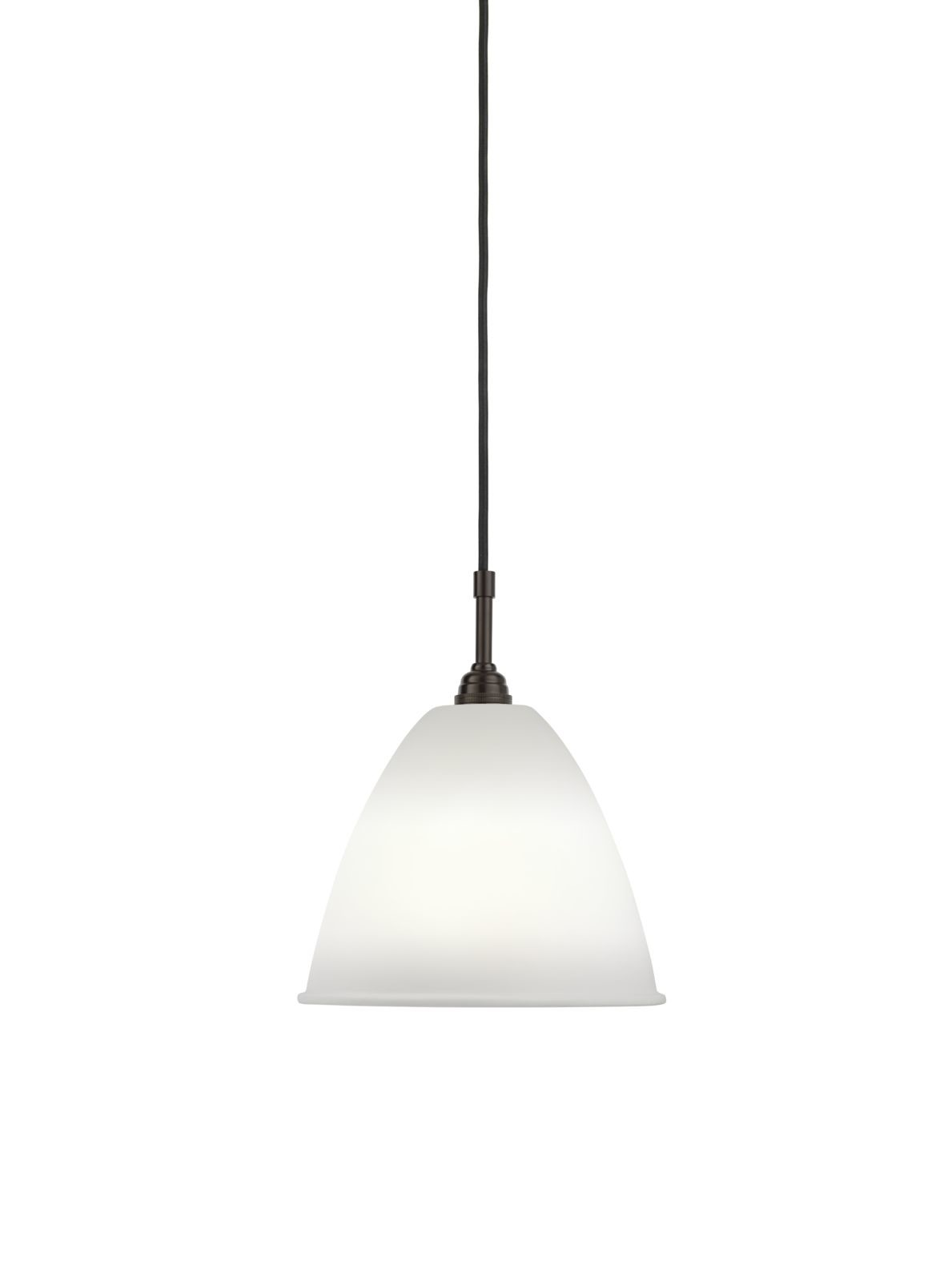 Bestlite BL9 Medium Pendant Lamp Bone China / Black Brass