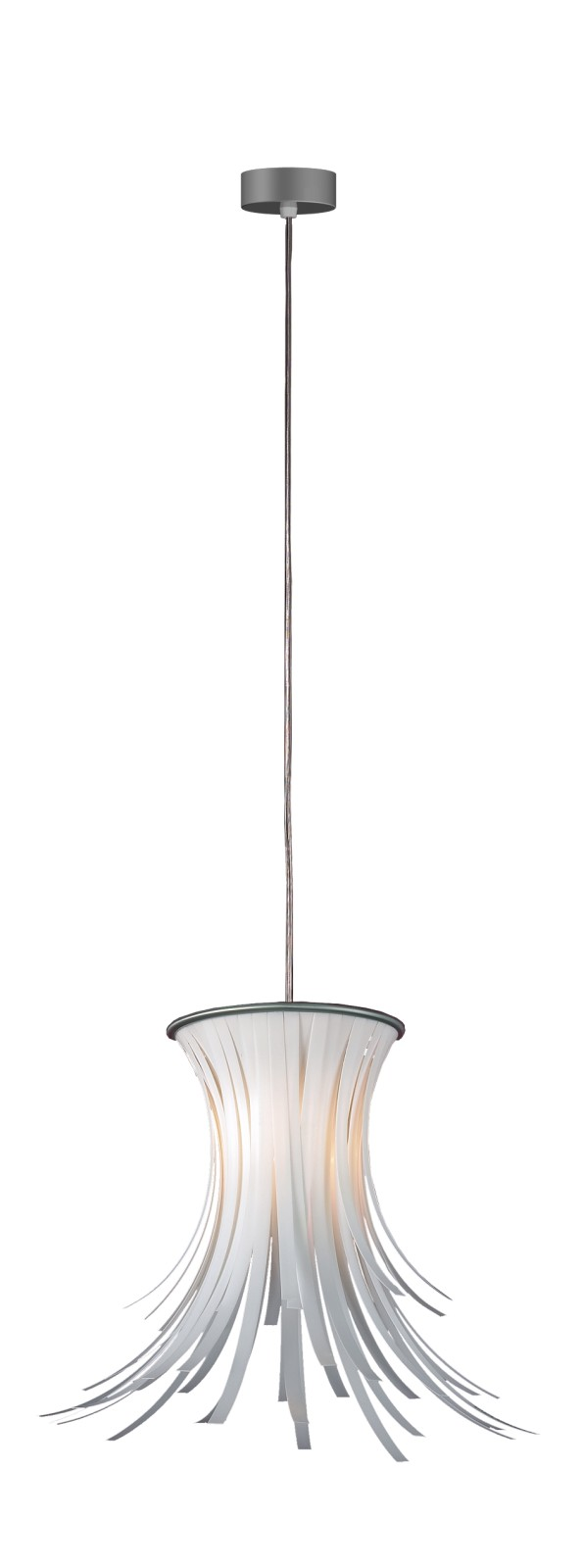 Bety Pendant Lamp Black Cable, White