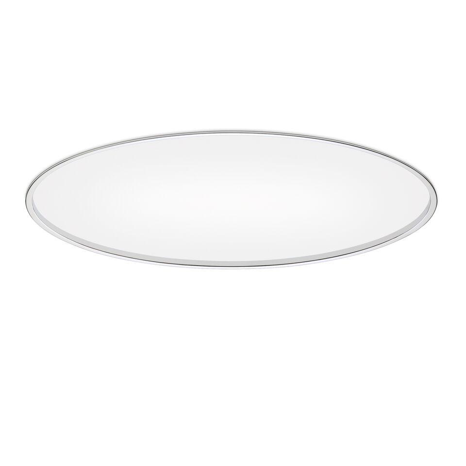 Big Built-in Ceiling Lamp Chrome