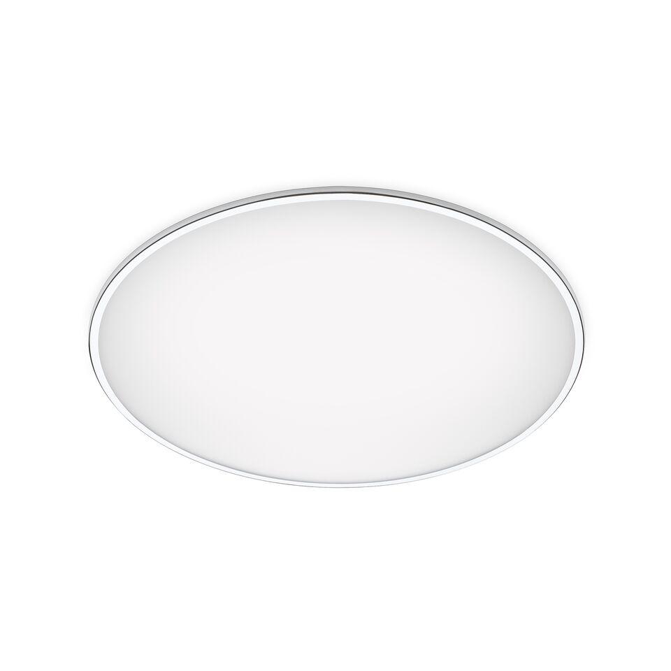 Big Ceiling Light - LED Chrome, 100cm, 3000