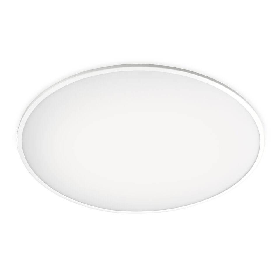 Big Ceiling Light Matt White Lacquer, 120cm