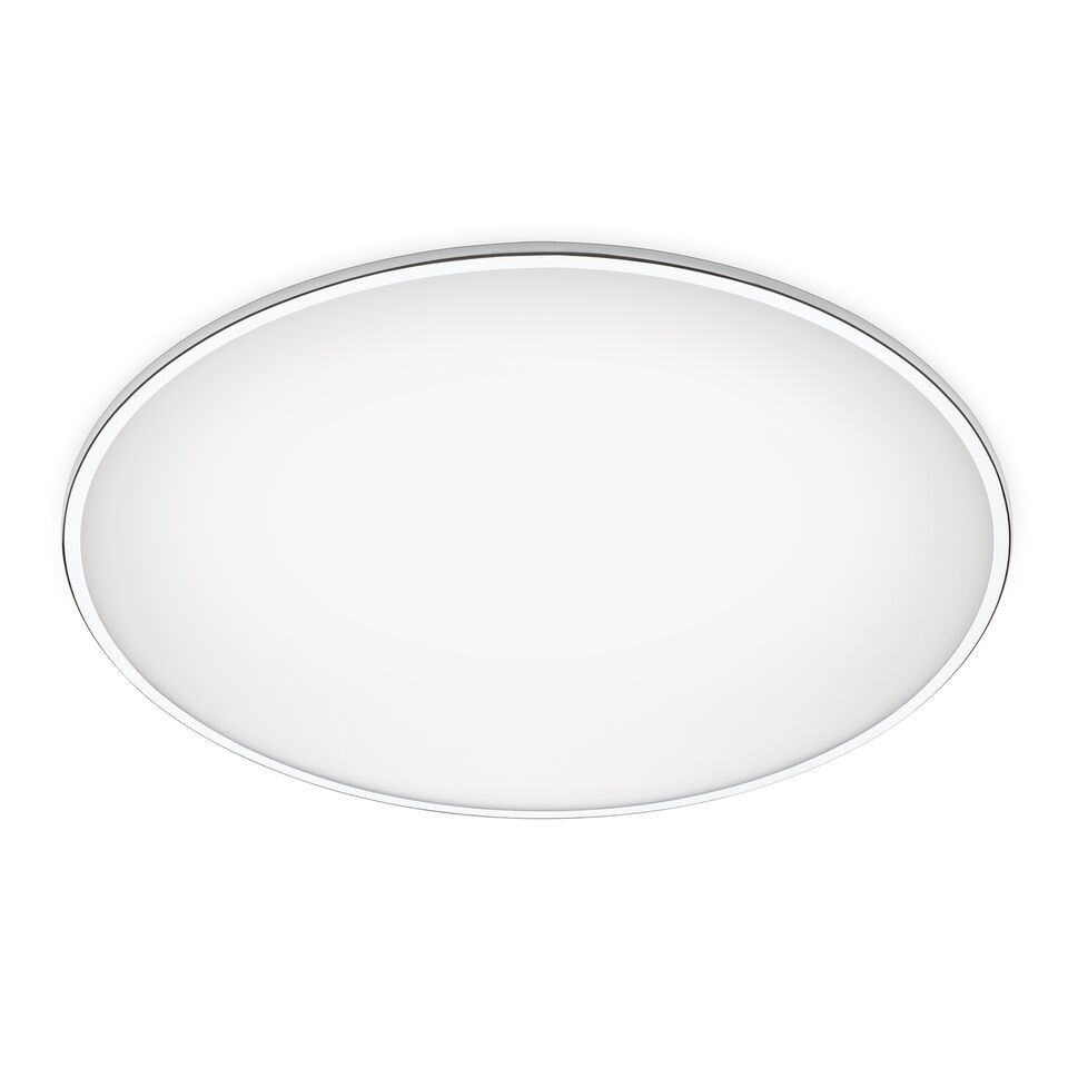 Big Ceiling Light Chrome, 120cm