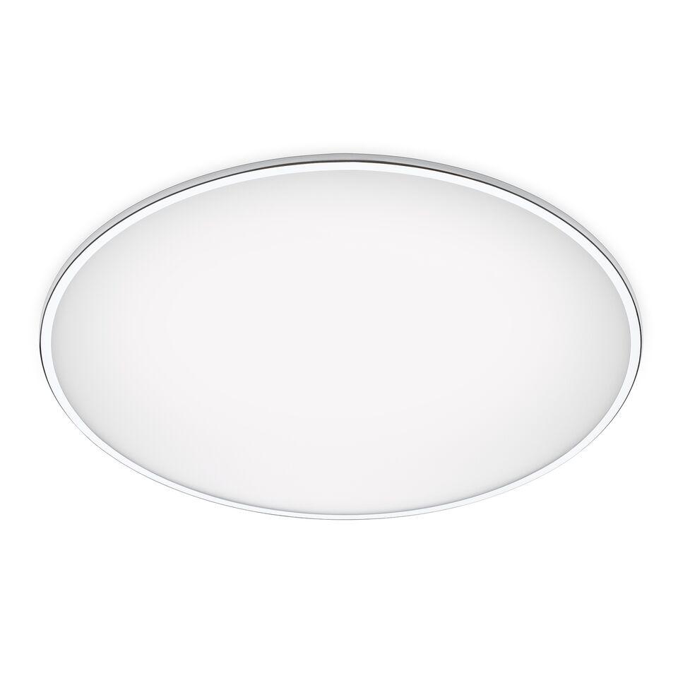 Big Ceiling Light Chrome, 120cm