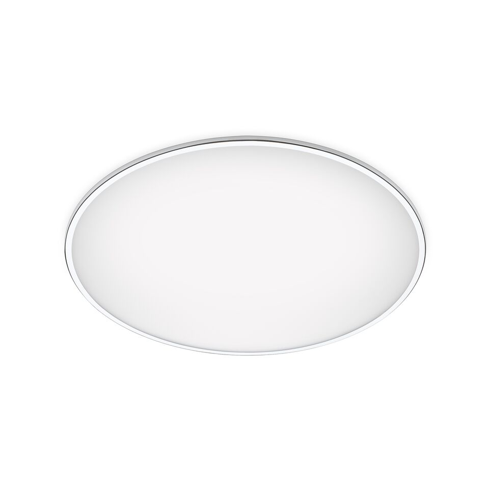 Big Ceiling Light Chrome, 100cm