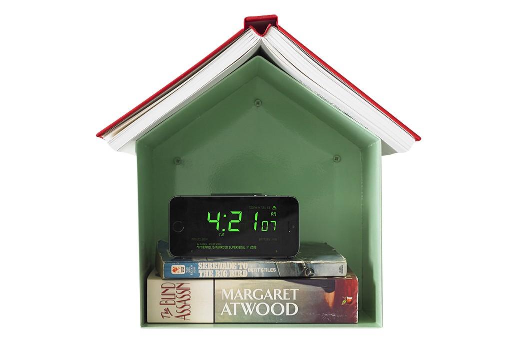 Birdhouse Bookshelf Glossy Mint