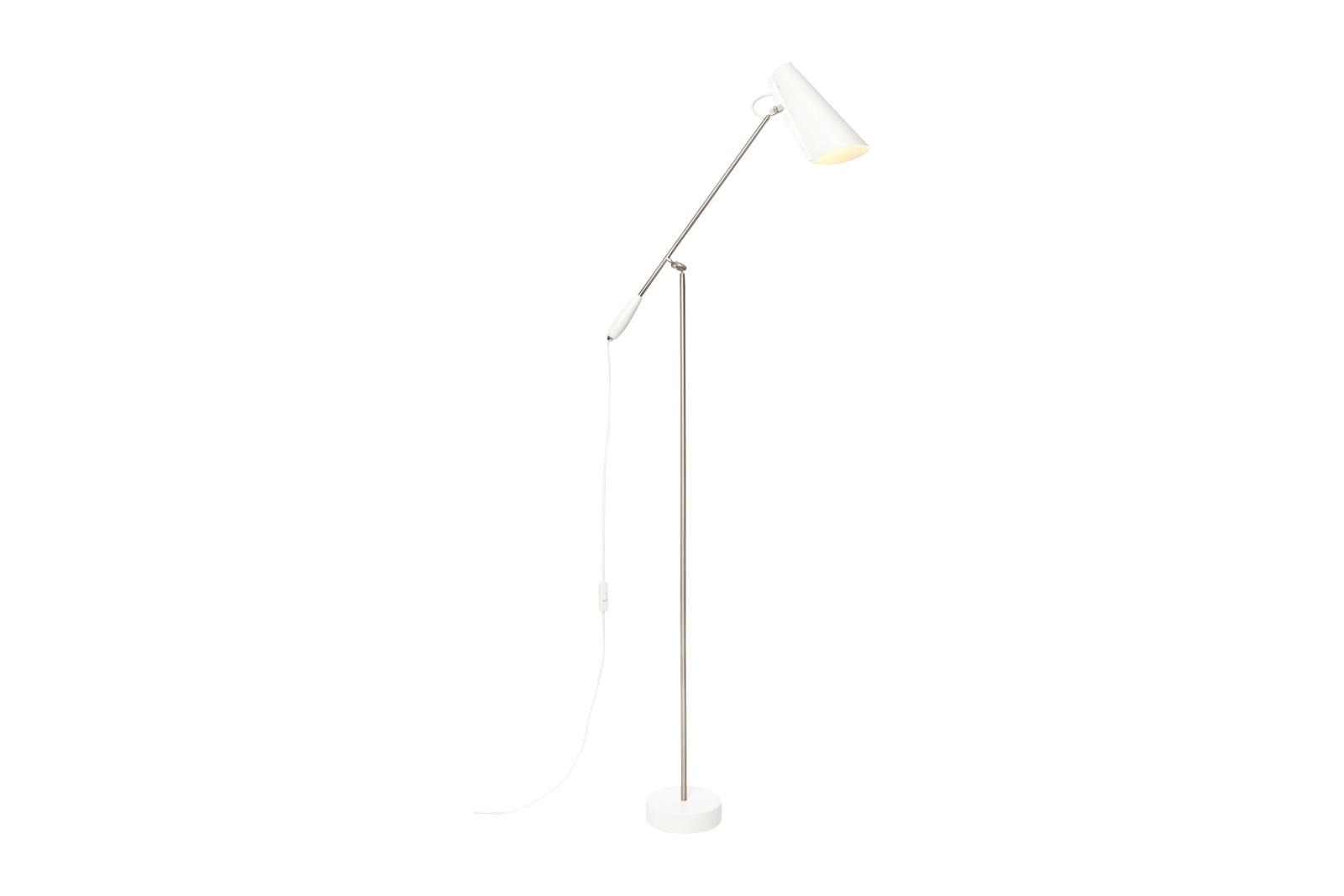 Birdy Floor Lamp White/Metallic, Type C Plug