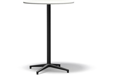 Bistro Stand-up Table basic dark melamine white, 79.6 cm