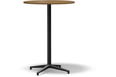 Bistro Stand-up Table basic dark light oak veneer, 79.6 cm