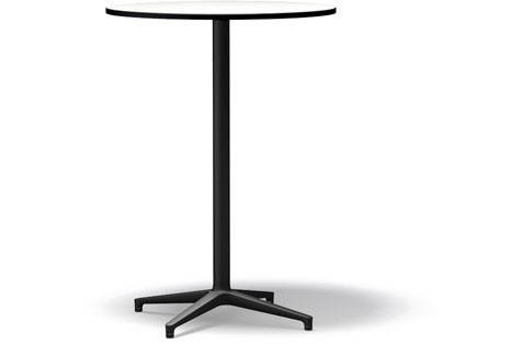 Bistro Stand-up Table basic dark compact laminate white, 79.6 cm