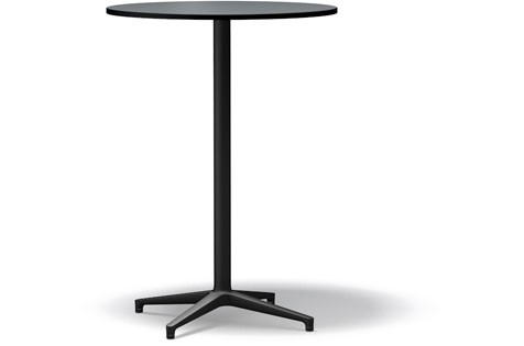 Bistro Stand-up Table basic dark compact laminate pastel grey, 79.6 cm