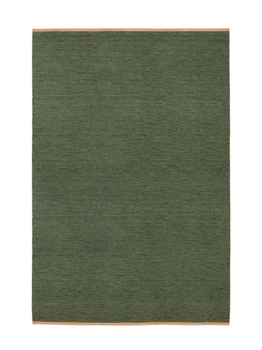 Björk Rectangular Rug Green, 200x300 cm