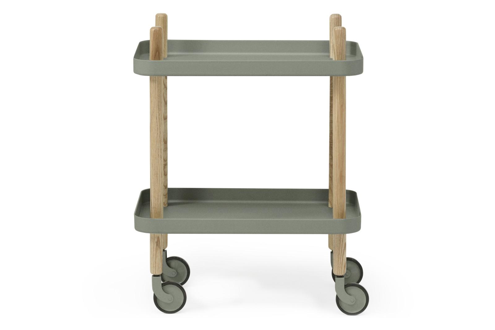 Block Side Table Dusty Green