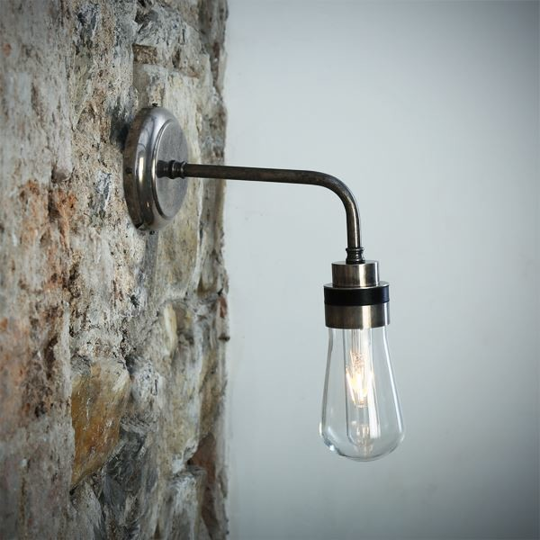 Bo Wall Light Antique Silver