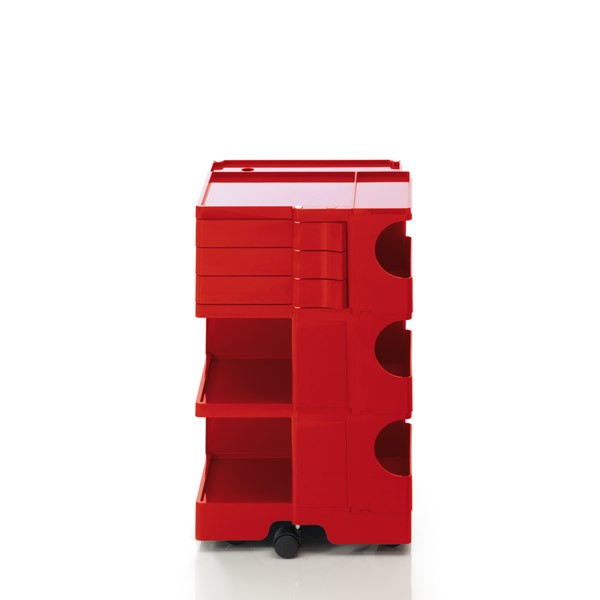 Boby Trolley Storage - Medium Red, 3