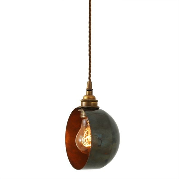 Bogota Quirky Pendant Light Antique Brass