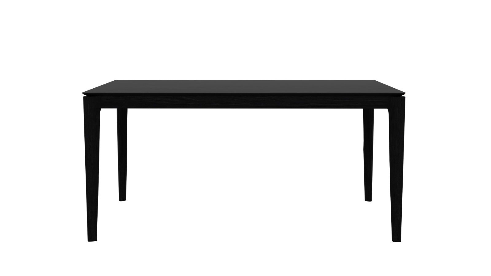 Bok dining table 160, Black