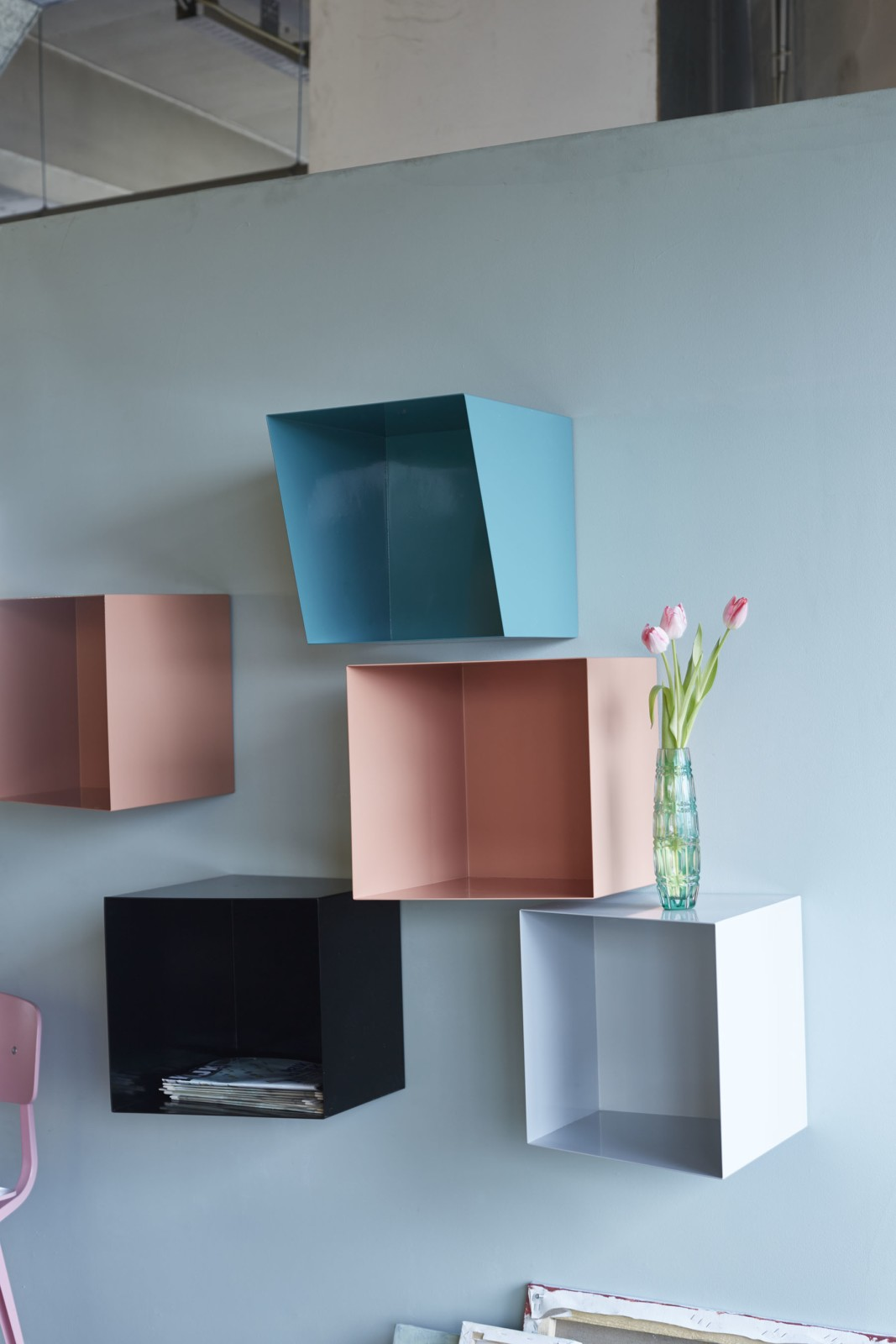 Bookcase TOTEM 6 modular units