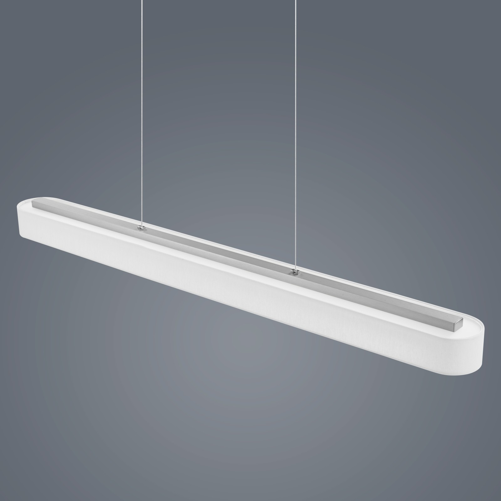 Bora Long Pendant Light White