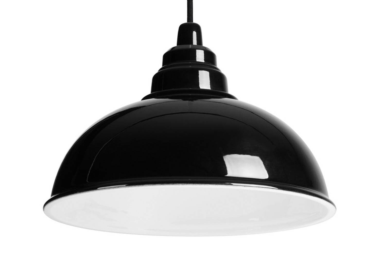 Botega Pendant Lamp Black and White