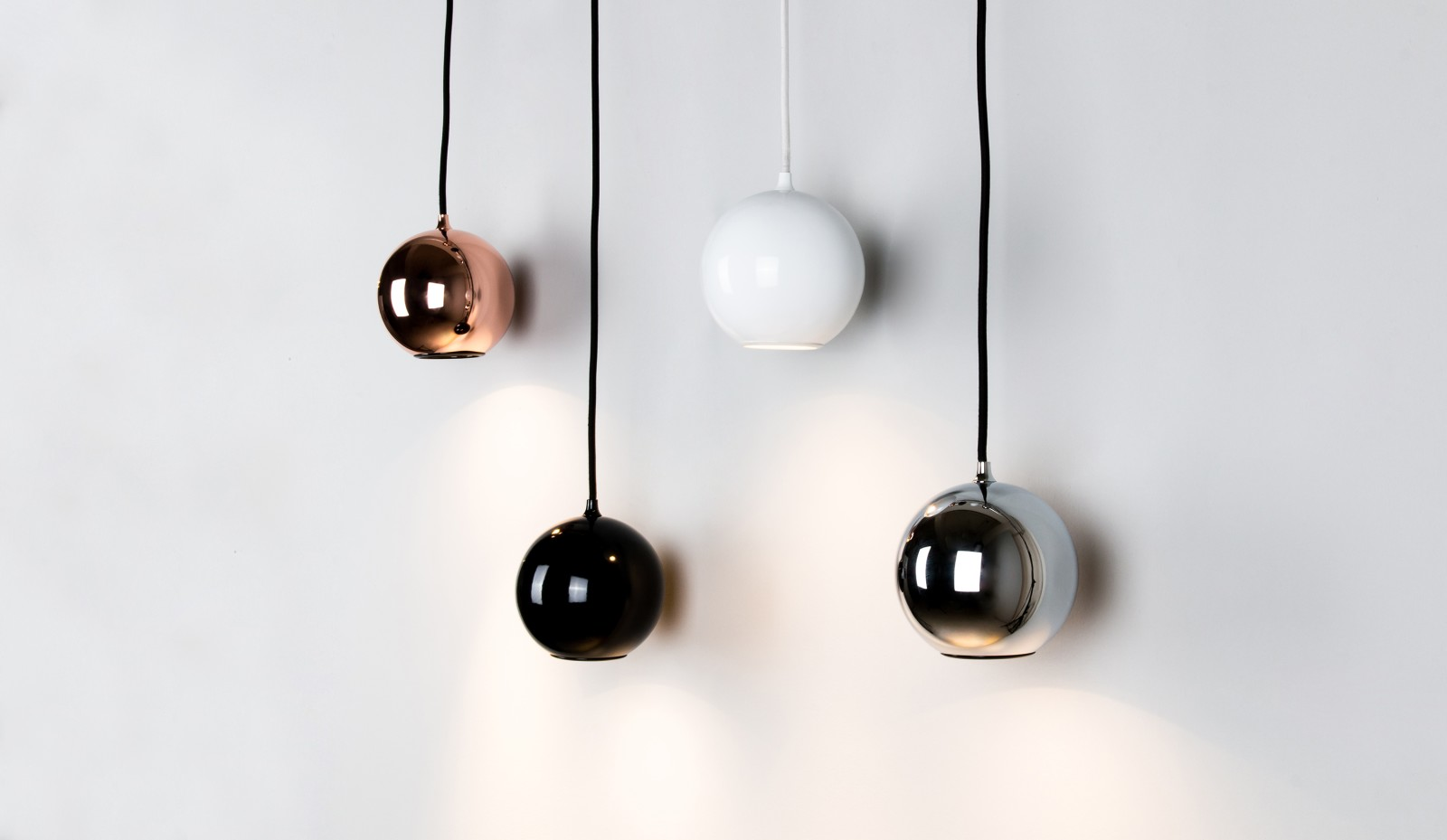 Boule Pendant Light Chrome