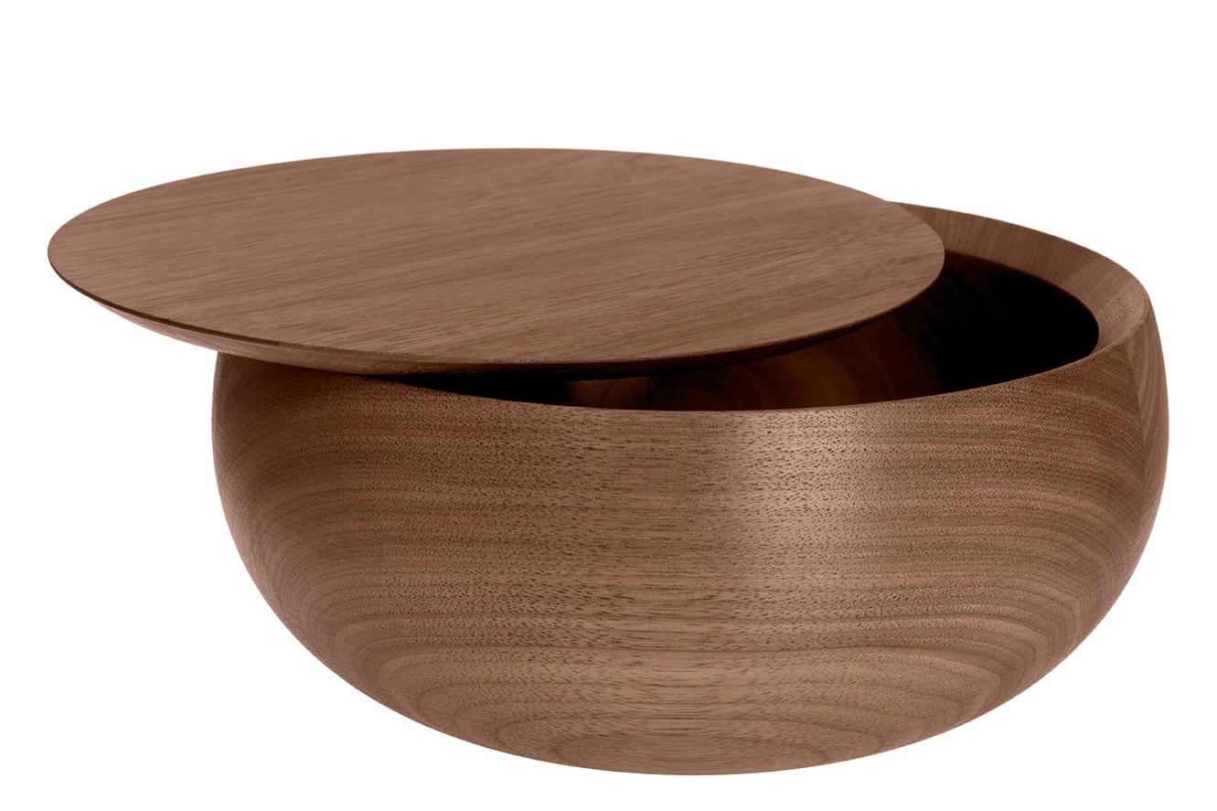 Bowl Bowl 16 Oiled Natural Walnut, 11