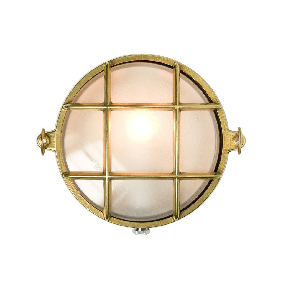 Brass Bulkhead Chrome, Points, 21cm